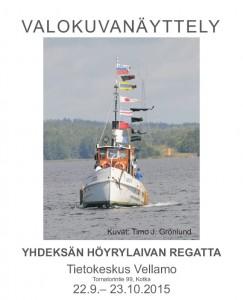 Grönlund Yhdeksan hoyrylaivan regatta