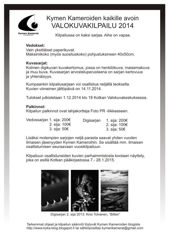 Kymen kamerat Vuosikisa_ilmoitus_2014_web